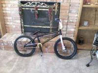 Custom Fit BMX Bike. Every single thing about this bike