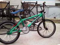 fully custom BMX bike. The bike was built frame up