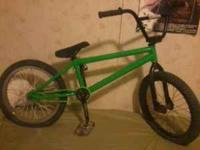 Its a fbm frame with profile cranks, primo rear hub,