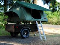 I had this tent trailer custom built in July 2013 and