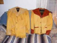 Elk Hide Custom Made HIS/HERS Jackets, Fully Lined,