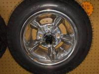 We have 10 inch aluminum wheels with lo pro tires for