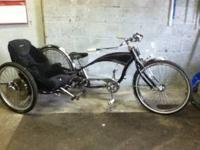 Homemade bike! One of a kind forsure! Has car seat