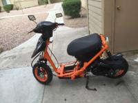 Im selling my custom scooter for only $500 or obo and