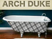 Arch Duke has an amazing plaid pattern that is going to