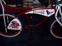 I build custom lowrider bikes. These are just a couple