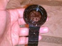 Customed black diamond watch by johnny. I have original