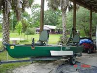16ft. Pelican Canoe-- Square Back. $850.00.  This canoe