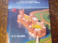 Cut and assemble A Medieval Castle. A full color model