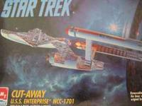 Enterprise NCC-1701 Cut-away kit in 1/650 Scale