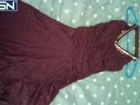 I have a formal dress for sale. It is sparkley brown.