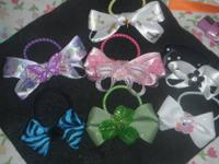 I make beautiful bows for little pooches...I originally
