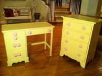 Super cute custom designed shabby chic girls' set!