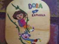 I have a very cute dora painting and all the spongebob