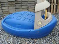 This is a cute sandbox and is in the shape of a