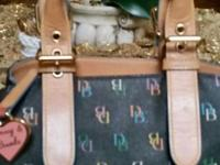 Adorable cute SATCHEL Bag by DOONEY & BOURKE in mint