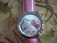 I have 6 Pink Hello Kitty watches with rhinestones.