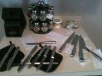 Kitchen Accessories for sale Knife/Cutlery & block