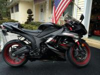 2008 Kawasaki ninja zx6r.Excellent condition. Special