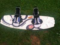 Cwb youth/begginer wake board with bindings real nice