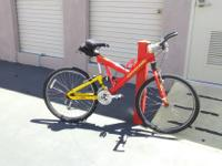 Completly redone like new vintage Cannondale V1000. For