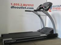 "Cybex 550T Pro3 Treadmill.  Sold ""AS IS ""refurbished"