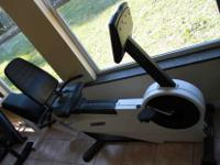 Cybex BikeMaxR Recumbent Bike Lightly Used Pedal straps
