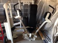 This Cybex Pec Dec Fly Selectorized Piece of equipment