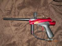 I have a Cybrid Stryker Semi Car Paintball gun its in
