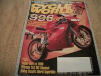 CYCLE WORLD, February 1999, full cover, BSA Englands