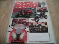 CYCLE WORLD, October 1998,cover missing, BMW C1, Urban