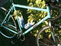 I am letting go of one of my favorite bicycles. This is