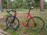 Motobecane cyclocross bike. 58 cm frame, new brakes,