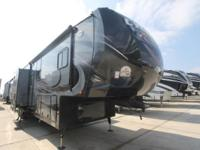 2014 Cyclone 4100 King Toy Hauler by Heartland -Car