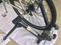 Cyclops Fluid Bicycle Trainer. Use to transform your
