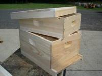 Premium kiln dried cypress bee boxes. I stock 9 5/8""