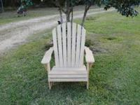 I make Cypress Adirondack Chairs. Heavy duty a full 24""