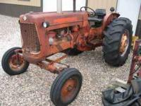 Selling my D-17 since I bought a newer tractor and