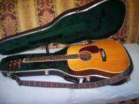 Type: Guitars Type: Acustic One owner with new case
