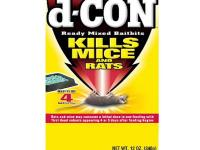 D-CON 12 oz. Rat and Mouse Killer Ready-Mixed Baitbits