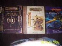 Assorted D&D books...Players Handbook, Oriental