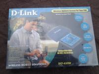 (2) Available- D-Link #DCF-650W Wireless Network Access