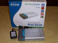 -Link DP-300U dual parallel and single USB print