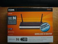 This is a new never used router l kept for a backup. It
