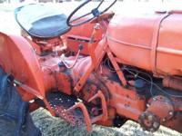 For sale a 1957/1958 Allis Chalmers D14 tractor wide