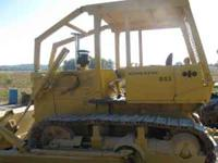 D53-16 Komatsu Dozer 130 HP power shift trans. three