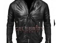 Sharp Black Replica of Electroma Daft Punk Leather