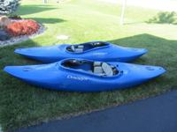 Dagger GT 7.5 River Runner Kayak $395, includes boat