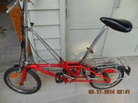 Hon folding bicycle that my father had in the 1970's