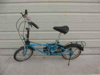FOR SALE: DAHON CLASSIC 3 FOLDING BIKE. BIKE IS NEW BUT
